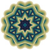 Colorful Mandala. Ethnic tribal ornaments. Geometric and floral motifs Royalty Free Stock Image