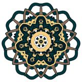 Arabic Colorful Mandala. Ethnic tribal ornaments. Colorful Mandala. Ethnic tribal ornaments. Geometric and floral motifs Stock Photos