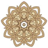 Arabic Colorful Mandala. Ethnic tribal ornaments. Colorful Mandala. Ethnic tribal ornaments. Geometric and floral motifs Royalty Free Stock Images