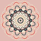 Arabic Colorful Mandala. Ethnic tribal ornaments Stock Images