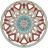 Aribic Colorful Mandala. Ethnic tribal ornaments. Colorful Mandala. Ethnic tribal ornaments. Geometric and floral motifs Royalty Free Stock Photos