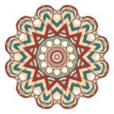 Aribic Colorful Mandala. Ethnic tribal ornaments. Colorful Mandala. Ethnic tribal ornaments. Geometric and floral motifs Royalty Free Stock Image