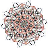 Aribic Colorful Mandala. Ethnic tribal ornaments. Colorful Mandala. Ethnic tribal ornaments. Geometric and floral motifs Stock Photos