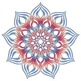Aribic Colorful Mandala. Ethnic tribal ornaments. Colorful Mandala. Ethnic tribal ornaments. Geometric and floral motifs Royalty Free Stock Photo