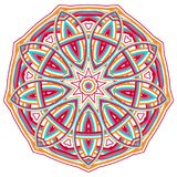 Colorful Mandala. Ethnic tribal ornaments. Geometric and floral motifs Royalty Free Stock Photography