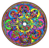 Colorful mandala Stock Photography