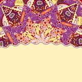 Colorful Mandala Vintage Card Stock Photography