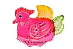 Colorful Mandarin Duck Lantern Stock Image