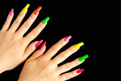 Free Colorful Manicure Royalty Free Stock Photos - 16987118