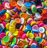 Colorful many botton for background Royalty Free Stock Photos