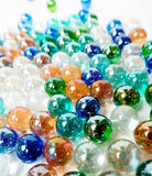 Colorful  marble ball background Stock Photography