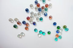 Colorful  marble ball background Stock Photo