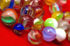 Colorful Marble Balls Stock Image