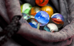Colorful Marble Balls Stock Images