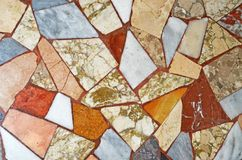 Colorful Marble mosaic background pattern textures Stock Photo