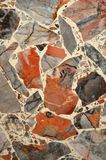 Colorful Marble mosaic background pattern textures Stock Photography