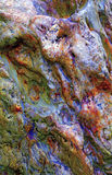 Colorful marble rock background Stock Image