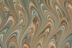 Colorful marbled paper Royalty Free Stock Photography