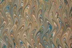 Colorful marbled paper Stock Image