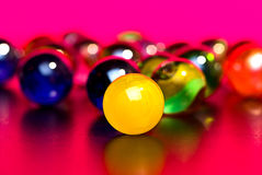 Colorful marbles Stock Images