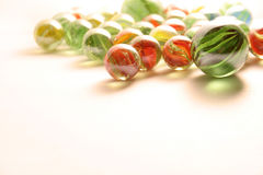 Colorful marbles Stock Image