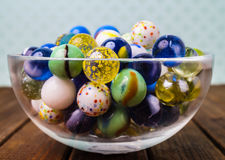 Colorful marbles Royalty Free Stock Images