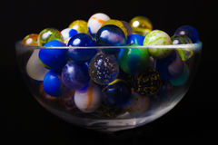 Colorful marbles Royalty Free Stock Image