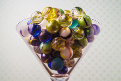Colorful marbles Royalty Free Stock Photography