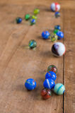 Colorful marbles Stock Photo