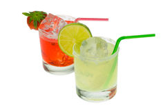 Colorful margaritas Royalty Free Stock Images