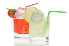 Colorful margaritas Royalty Free Stock Photo
