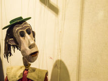 Colorful marionette Stock Photography