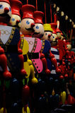 Colorful marionettes Royalty Free Stock Photo