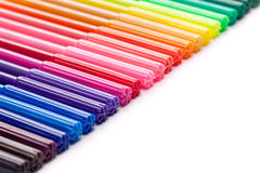 Colorful Marker Border Royalty Free Stock Photo