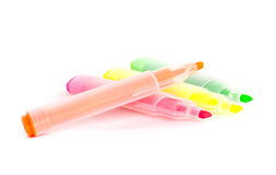 Colorful markers pens. Stock Photography