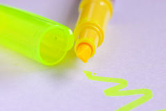 Colorful markers pens  Royalty Free Stock Photography