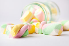 Colorful marshmallow Royalty Free Stock Photo