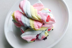 Colorful marshmallow Royalty Free Stock Photography