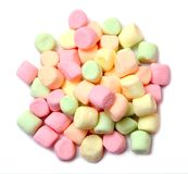 Colorful marshmallow Stock Photos