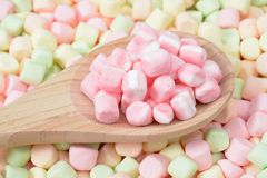 Colorful marshmallow Royalty Free Stock Image