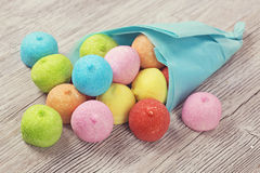 Colorful marshmallow Stock Image