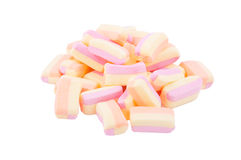 Colorful marshmallows Royalty Free Stock Photos