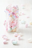 Colorful marshmallows Royalty Free Stock Photo
