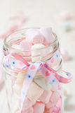 Colorful marshmallows Stock Image