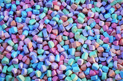Colorful Marshmallows Background Royalty Free Stock Photos