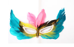 The colorful mask Royalty Free Stock Images