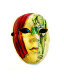Colorful mask Stock Images