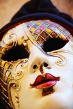 Colorful mask, detail, outdoors, in Venice, Italy. Colorful mask, detail, in Venice, Italy, Europe. For more photos see the collection Venice Stock Photo