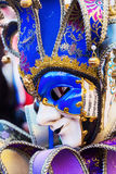 Colorful mask of Venetian Carnival. Picture of a colorful mask of Venetian Carnival royalty free stock photo