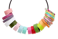 Colorful masking tape. Isolated on a white background Stock Photos